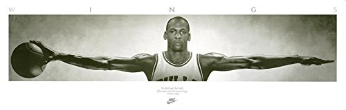 Close Up Michael Jordan Poster Wings (182,5cm x 58cm) + Ü-Poster