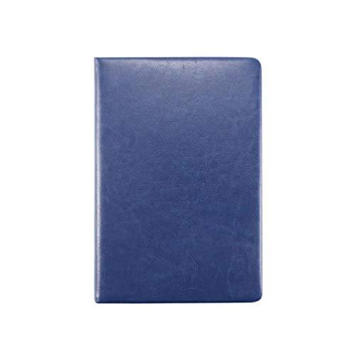 YUZI XYHSUTENARKA A5 cuaderno de cuero de negocios diario con forro de papel diario planificador bloc de notas papelería...