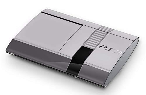 Skins4u Aufkleber Design Schutzfolie Vinyl Skin kompatibel mit Sony PS3 Playstation 3 Super Slim Retro SNES