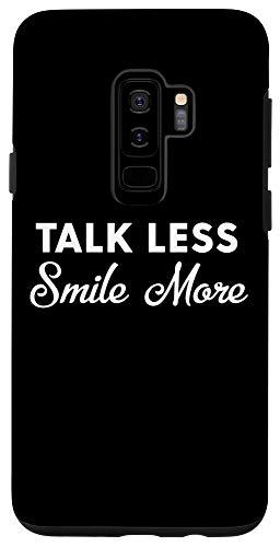 Galaxy S9+ Talk Less Smile More Historic Hamilton Quote Election Funny Case