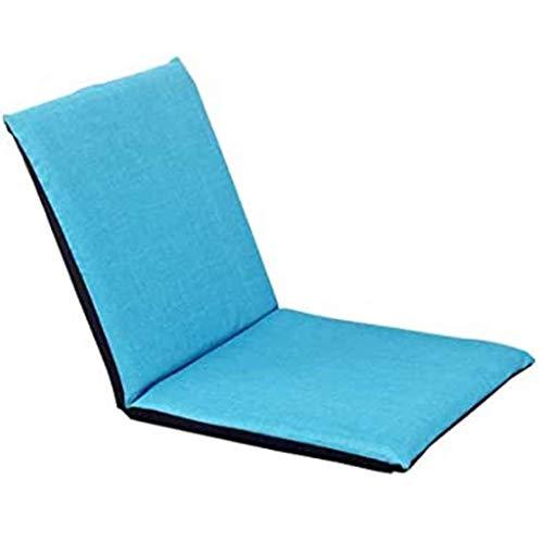 Sheeouis Creative Lazy Sofá, cama de cojín plegable individual, silla reclinable, silla portátil para ordenador, sofá