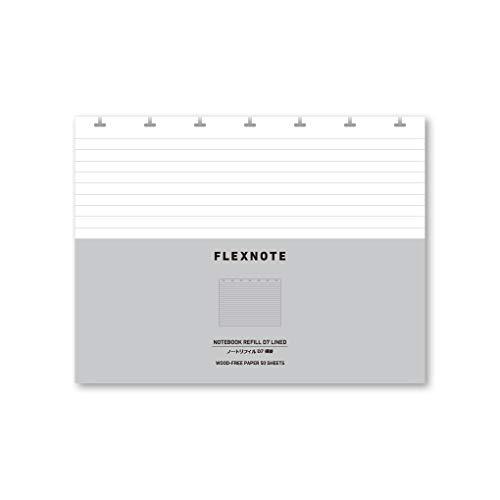 FLEXNOTE専用リフィル-D7横罫/片面印刷
