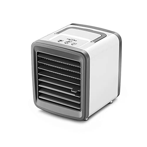 Mini dispositivo di raffreddamento portatile, piccola ventilatore di aria condizionata, refrigerazione e spray di umidificazione, adatto per la casa, letto, ufficio, desktop, scrivania e scrivania