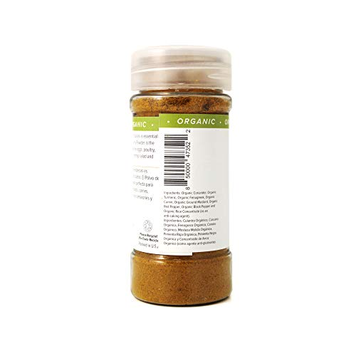 Jackie's Kitchen Curry Powder, 2 Ounce (Pack of 8)