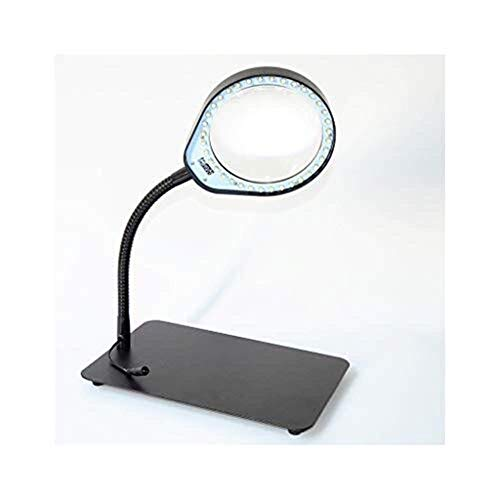 YUIOLIL Magnifiers Magnifying Glass Super Clear Glass Anti-Fall Reading Elderly Students Convenient Desktop Magnifying Mirror Microscope,Optical Lenses Protect Vision Without Hurting Eyes