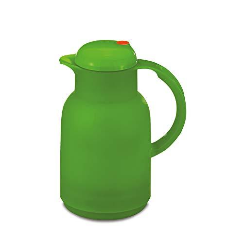 ROTPUNKT Isolierkanne 470 Astrid 1,0 l   Zweifunktions-Drehverschluss   BPA-frei - gesundes Trinken   Made in Germany   Warm + Kalthaltung   Glaseinsatz   Frozen Apple