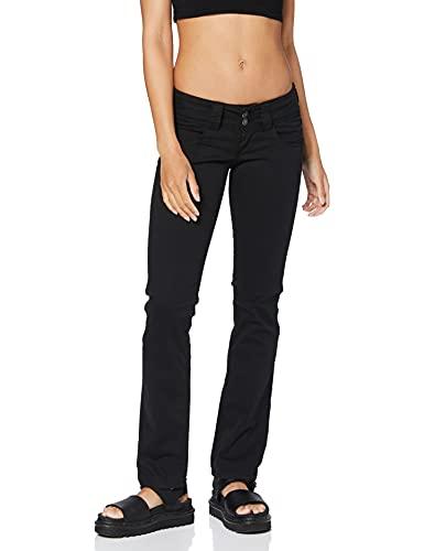 Pepe Jeans Damen Jeans Venus, Schwarz (Black 999-T41), 28W/32L