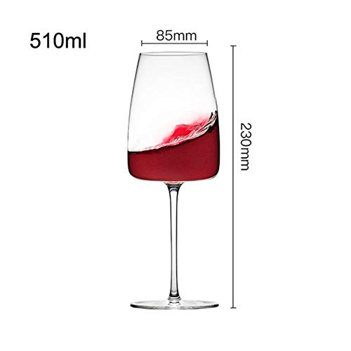 Europa Loodvrije kristallijne glas wijnbeker rode wijn glas glas huishoudelijke witte wijn glas champagne mousserende drinkglas 230 x 85 mm