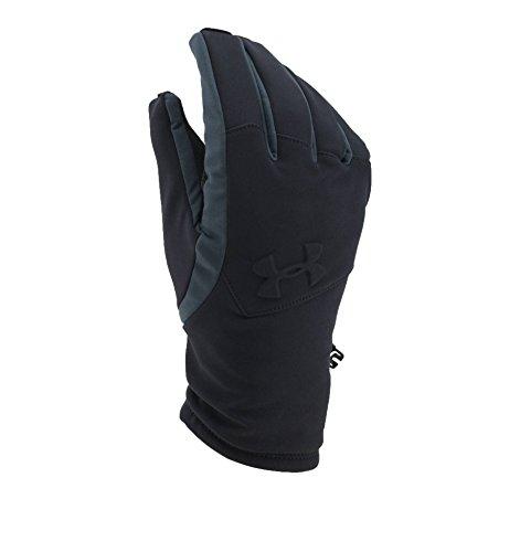 Under Armour Men's ColdGear Infrared Softshell Gloves, Black (001)/Black, Medium