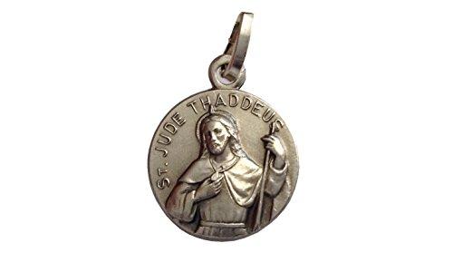 Igj Medaglia di San Giuda Taddeo Apostolo - Patrono dei Casi Impossibili (St.Giuda 1/2 Busto)