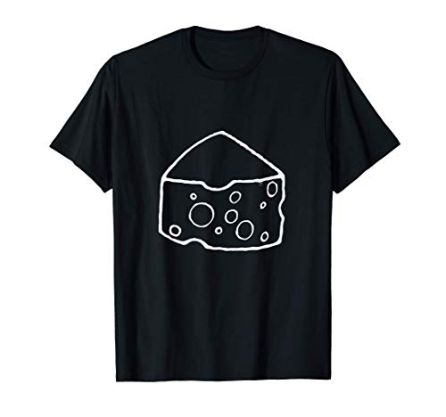 Le Fromage Outline Cheese Lover Camiseta