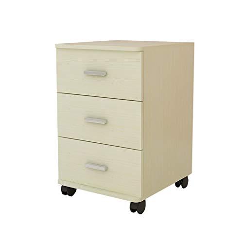 LQ Gabinete de Archivo de 3 Capas, gabinete de cajones de Actividad de información de Muebles de Oficina con Cerradura, (55x40x40cm) Carpeta