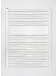 Radiador de baño blanco curvado (775X 500B Conexión Central