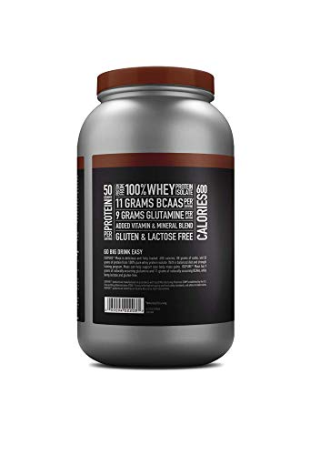 Isopure Mass Protein, Vitamin C and Zinc for Immune Support, 50g Protein, 600 Calories, Dutch Chocolate, 3.25-Pound Tub