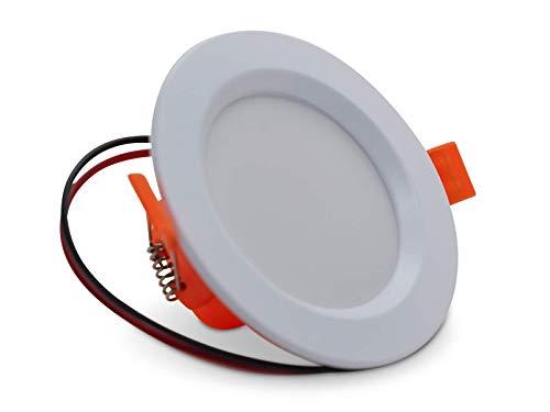 LED Spot 24 Volt, 68mm Bohrung, warmweiß, 10 Watt, z.B. Loxone, DMX, Comexio, FHEM