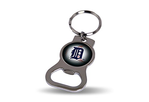 Rico Industries Detroit Tigers Bottle Opener Keytag