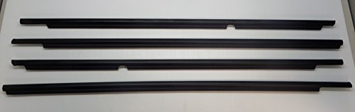 Toyota 4Runner 2003-2009 Front & Rear Door Belt Moldings Weatherstrip Genuine OEM OE