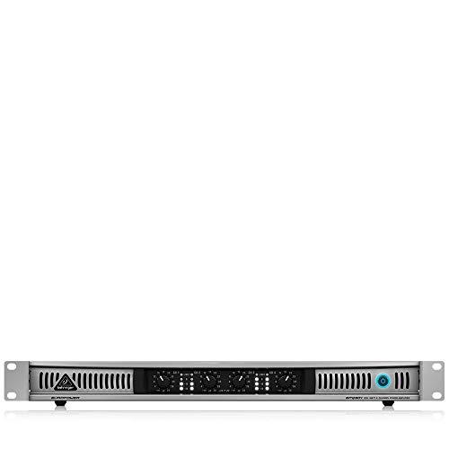 Behringer EPQ304 Europower professionelle Stereo-Endstufe (4-Kanal, 300 Watt), silber