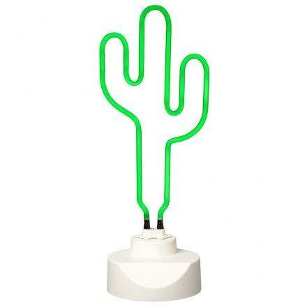 La Chaise Longue Lampe Néon Cactus Vert 37-1L-009