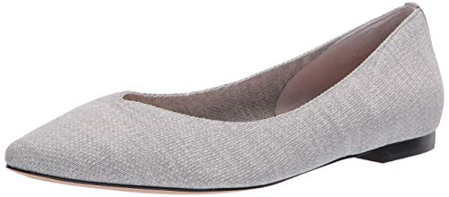 CC Corso Como Women's Julia Knit Ballet Flat, Heather Grey, 5.5 M US