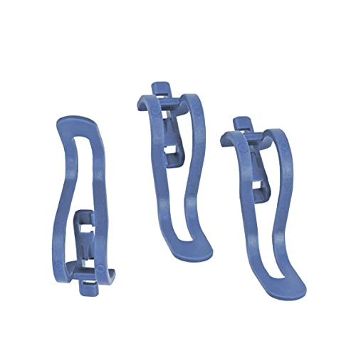 ORIGINAL Bosch Siemens 00423712 423712 Geschirrkorb Korb Bodenkorb Korbeinsatz Kleinteilehalter Clip für Geschirrkorb 3 Stück Spülmaschine Geschirrspüler