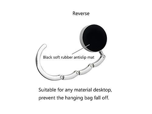 Grtdrm Multiple Hearts Style Premium Foldable Handbag Bag Purse Hanger