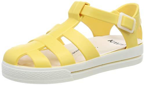 Kavat Unisex-Kinder Sand Geschlossene Sandalen, Gelb (Light Yellow 901), 25 EU