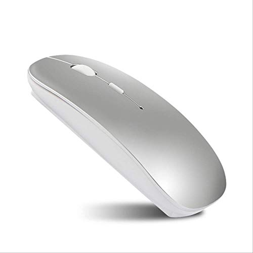 For Apple Macbook air For Xiaomi Macbook Pro Rechargeable Bluetooth Mouse For Huawei Matebook Laptop Notebook Computer Silver