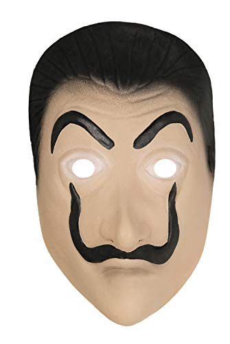 Seawhisper Haus des Geldes Maske Latex La Casa De Papel Maske Salvador Dali Faschingskostüm Karneval Kostüm