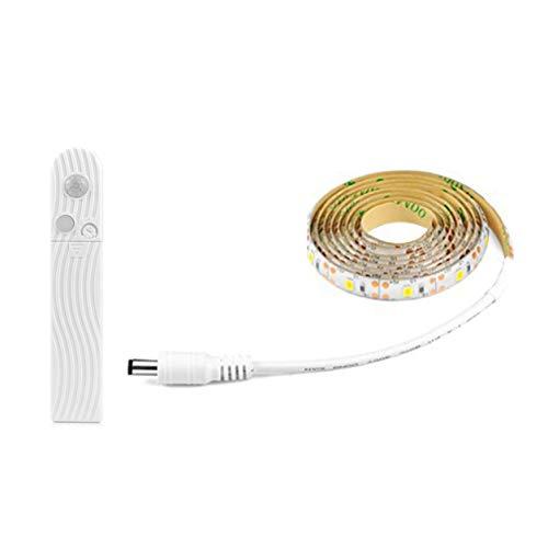 Color Yun LED-Lampe mit menschlicher Körpererkennung Batteriebox Lichtleiste Weiche Glühbirne Schrank Lichtleiste Bett Kleines Nachtlicht