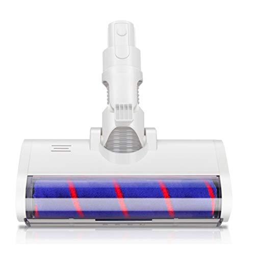 ZRNG Pincel de Cabeza de Cepillo eléctrico Ajuste for Xiaomi Dream V8 / V9 / V9B / V10 / V11 Piezas de aspiradora La instalación es Simple y fácil de Usar. (Color : White)