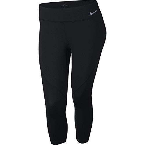 Nike Womens Yoga Fitness Athletic Leggings Purple XS