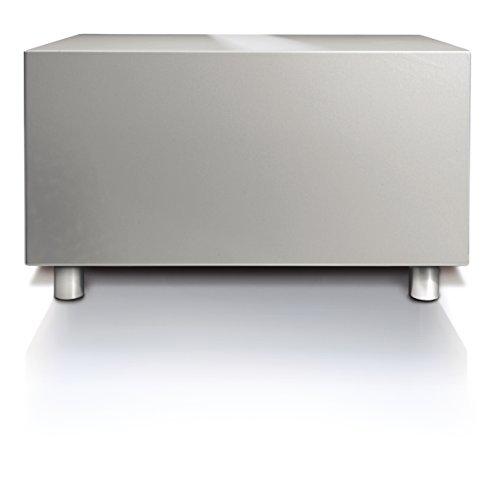 LOEWE - Subwoofer (150 W, Aktiver Subwoofer, 34-250 Hz, 300 W, Silber, 12,6 kg)