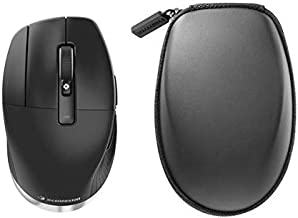 3Dconnexion CadMouse Pro Wireless - Mouse - ergonomic - left-handed - 7 buttons - wireless - Bluetooth, 2.4 GHz - USB wireless receiver