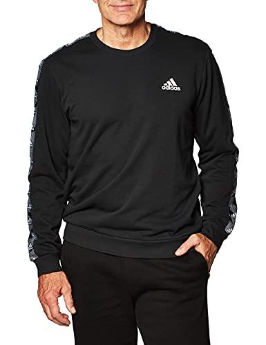 adidas Herren Sweatshirt E TPE Sweatshirt, Black/White, XL, GD5448