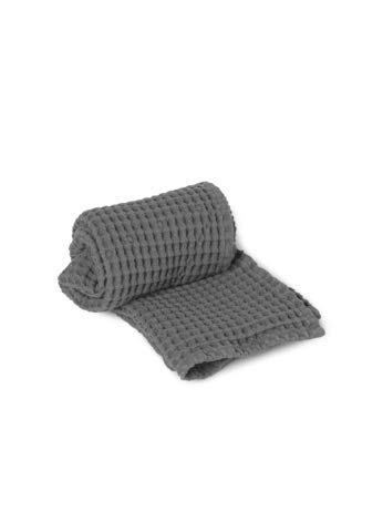 Ferm Living Organic Handtuch, Grey