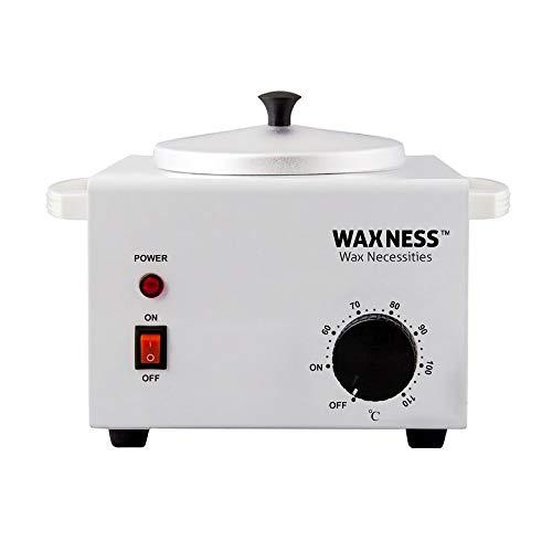Wax Necessities Waxness Single Metallic Wax Heater Professional WN5001 Holds 16 Ounces
