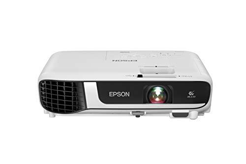 Epson EX5280 3-Chip 3LCD XGA Projector, 3,800 Lumens Color Brightness, 3,800 Lumens White Brightness, HDMI, Built-in Speaker, 16,000:1 Contrast Ratio