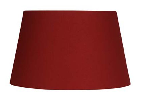 Oaks Lighting, Paralume in cotone, tessuto, rosso