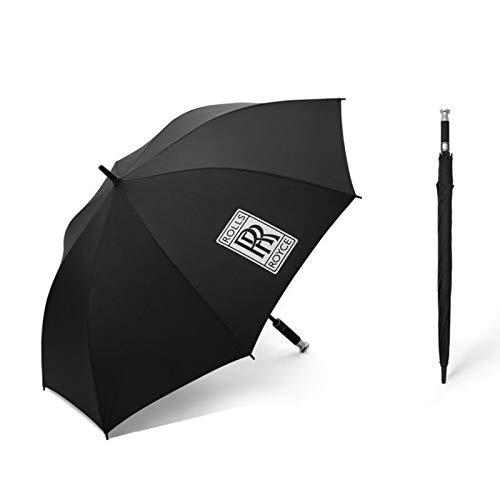 ZXXYTA Paraguas estándar de Mercedes-Benz Rolls, Paraguas de Negocios de Mango Largo, Regalo de Golf, Paraguas publicitario
