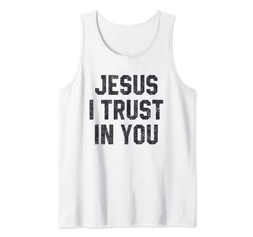 Jésus, j'ai confiance en toi Divine Miséricorde Dévotion Débardeur