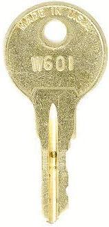 Office Depot W650 File Cabinet Max 43% OFF Keys: 2 Keys Replacement Super intense SALE