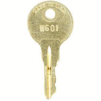 Office Depot W604 File Cabinet Replacement Keys: 2 Keys