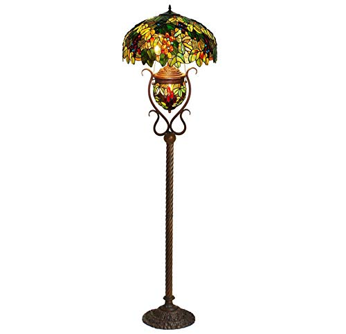XinQing Child-mother Floor Lamp, Home Decoration Glass Decorative European Classical Grape