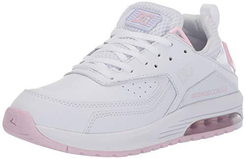 DC Damen Skate-Schuh Vandium Se, Weiá (weiß/rosa), 36 EU