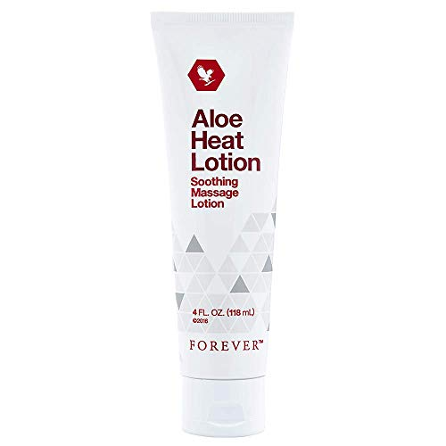 Amazing Deal Aloe Heat Lotion Soothing Massage Lotion 4 fl. oz. (118 ml) By Forever (Pack of 6)