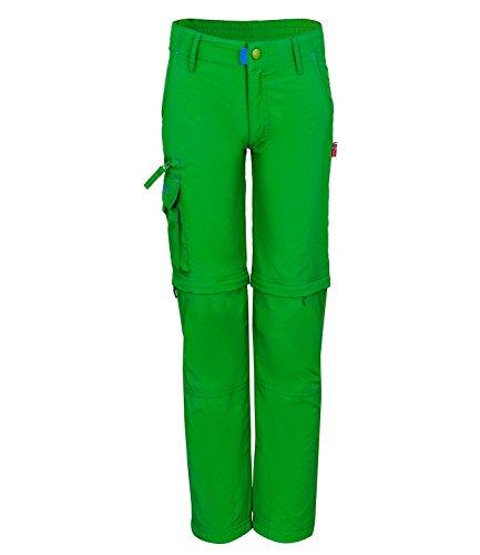 Trollkids Trollkids Quick-Dry Zip-Off Hose Oppland Slim Fit, Indischgrün, Größe 164