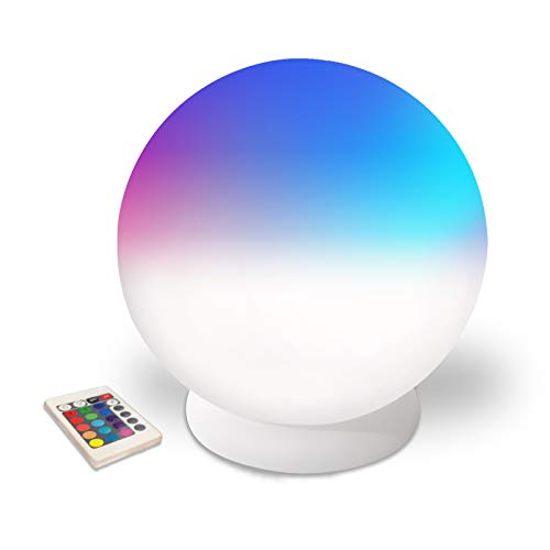 TOVEENEN Pool Lights That Float Wireless Charging Floating Pool Lights 8...