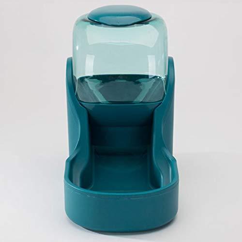 AYDQC Fuente de Bebida del alimentador de Mascotas, Botella de Bebida Alimentación Lenta Contenedor de Agua Potable Suministros para Mascotas (Size : Large)