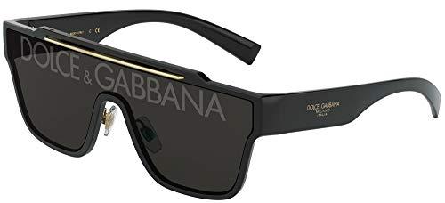Dolce & Gabbana Gafas de Sol VIALE PIAVE 2.0 DG 6125 Black/Grey 35/13/145 hombre